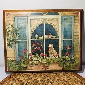 Vintage. Beautiful frame.  A true work of art.  I